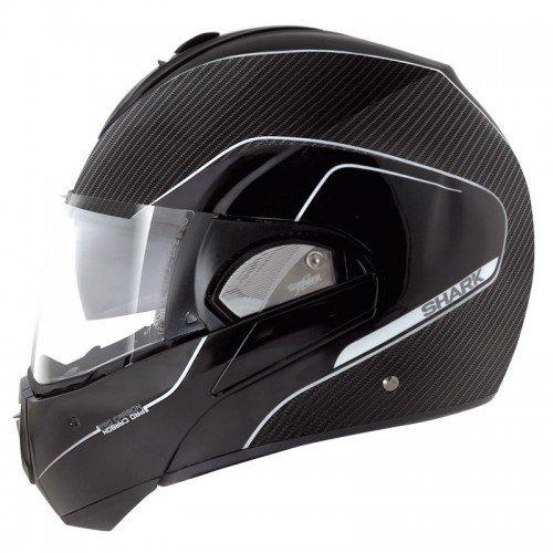 Shark Evoline Pro Carbon Mat Helmet-Carbon-M