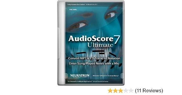 neuratron audioscore ultimate 7 crack