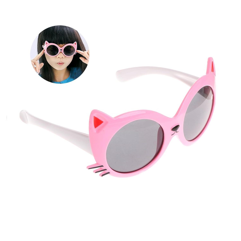 af98292befe3c Bettal Kids Cat Design UV Protection Sunglasses for Child Age 4-12