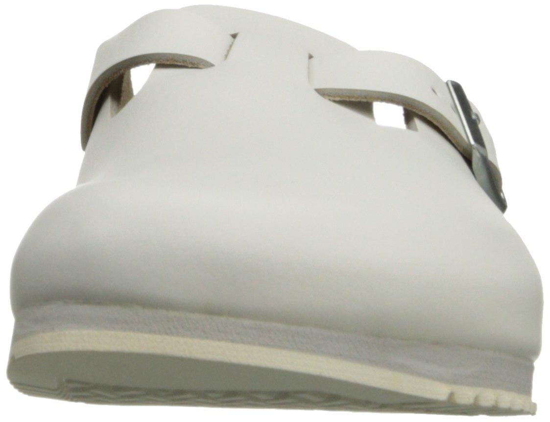 Birkenstock Unisex Professional Boston Super Grip Leather Slip Resistant Work Shoe,White,44 M EU by Birkenstock (Image #4)
