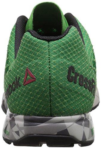 Nano Reebok Shoe Grey basil black shar 5 tin Green steel Green Formation Crossfit R Bright Brq7wxBEn