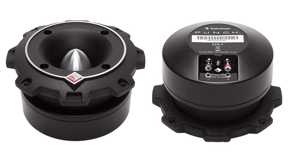 2) New Rockford Fosgate PP4-T 1.5'' 200 Watt Heavy Duty Car Power Bullet Tweeters by Rockford Fosgate