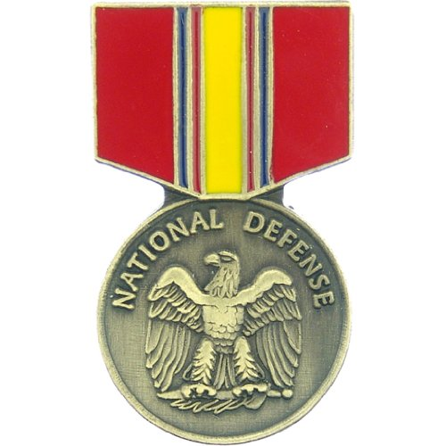 National Defense Service Medal Pin US Military Collectibles Patriotic Gifts Xmas