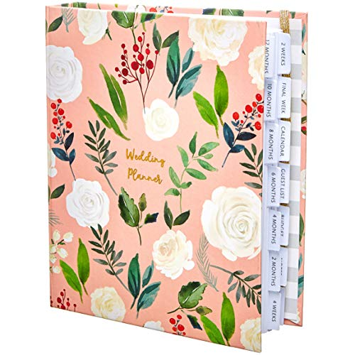 The Dream Wedding Planner | Luxury Wedding Organizer Book with Beautiful Souvenir Gift Box | Ideal Engagement Gift for Couples | Perfect for Planning Your Dream Wedding | Pink & ()