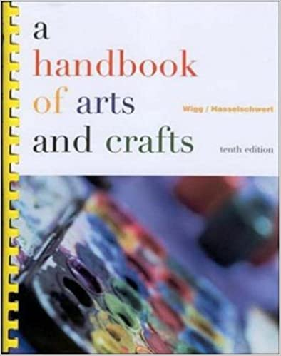 Amazon a handbook of arts and crafts 9780072317275 philip amazon a handbook of arts and crafts 9780072317275 philip r wigg willard f wankelman jean hasselschwert books fandeluxe Images