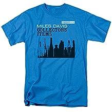 Trevco unisex-adult standard Miles Davis Prince Heather Adult T-shirt