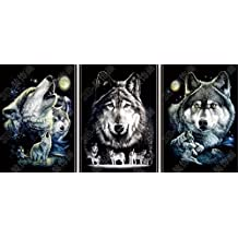 3D Poster - Wolf Pack
