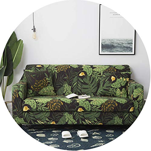 Lady night Slipcover Gray Sofa Cover Stretch Furniture Covers Elastic Sofa Covers,Color 11,2-Seater(145-185Cm) (Furniture Covers Outdoor Nz)
