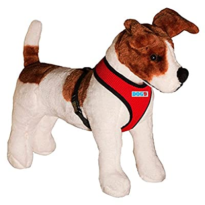DogNine Mesh Dog Harness - Comfortable Dog Vest, No-Choke Soft Harness