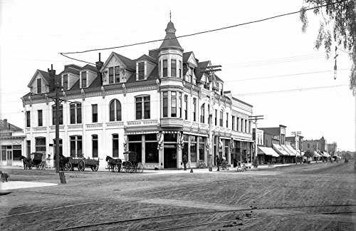 1900 Third Street and Broadway, Santa Monica, CA Vintage Photograph 11