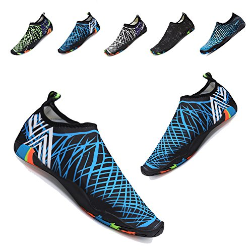 Surfing Shoes Barefoot Water Aqua Shoes Yoga Blue Women's Socks Quick Net Dry YALOX for Swimming Outdoor Beach Exercise Men 0W6Egn7