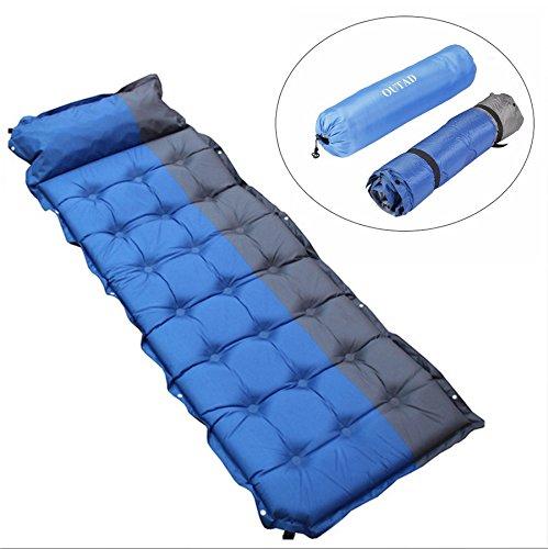 YOPEEN Outdoor-Camping-Matte Wasserdicht Selbst aufblasende Zelt Faltbare Picknick Isomatte Automatische aufblasbare Luft Matratzen Bett