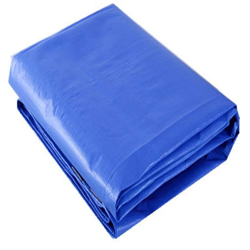 ダブルレイヤー防水タプロ、PEソフトうどん抵抗老化静的ポータブル抗UV湿気証明屋外キャンプ用ピクニックテントシェルターガーデンカー天井160g /平方メートル (サイズ さいず : 4x8m) 4x8m  B07LCTBMQT