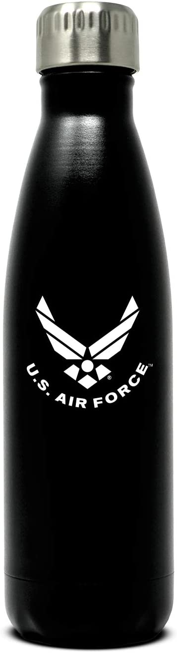 US Air Force 17oz Double Wall Vacuum Insulated Stainless Steel Water Bottle
