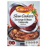 Schwartz Slow Cookers Sausage & Bean Casserole Recipe Mix (35g) - Pack of 6
