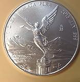 2015 Mexico BU Silver Libertad; 1 Ounce .999 Fine