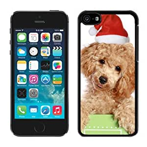Popular Sell Design Cute Christmas Cat Dog Black Plastic Iphone 5c,Apple Iphone 5c Cover Case