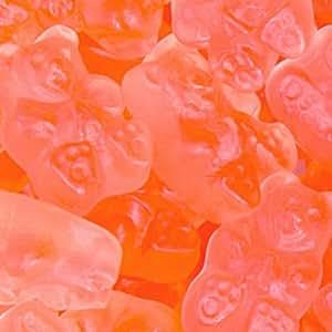 Pink Grapefruit Gummy Bears 1LB Bag