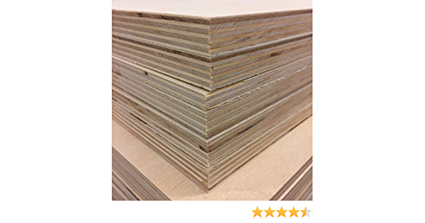 Overstock sale 1//2 Baltic Birch Plywood perfect for Laser Engraving or Crafting 10 pieces 8.5 x 11 sheets