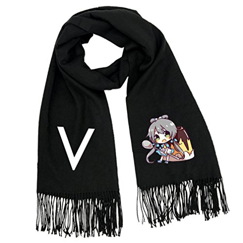 hot sell Gumstyle Vocaloid Soft Winter Scarf Warm Scarves With Tassels free shipping