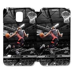 RAROFU Cool James LeBron Custom Cover Case for SamSung Galaxy S5