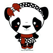 Krisgoat - Lady Panda Bear - Sticker / Decal