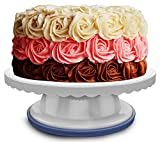 Cake Turntable - 360 Degrees - 4 Inches Tall | Baking and Cake Decorating Supplies