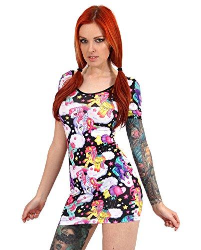 Einhorn Kleid Pegasus Multicolor L Liquor Brand S Damen qIxaxtwE