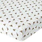 Babies R Us Percale Crib Sheet - Monkey by Babies R Us