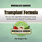 buy Transplant Formula - For Use With Plants and Seeds Including; Vegetables, Herbs, Fruit Trees, Shrubs, and Perennials - Great For Container and Raised Bed Gardens - Fine Powder Supplies Trace Minerals, Soil Microbes, and Biostimulant Carbons now, new 2018-2017 bestseller, review and Photo, best price $25.50