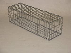 gabion 100x30x30 cm mesh 5x10 cm wire 4mm garden outdoors. Black Bedroom Furniture Sets. Home Design Ideas