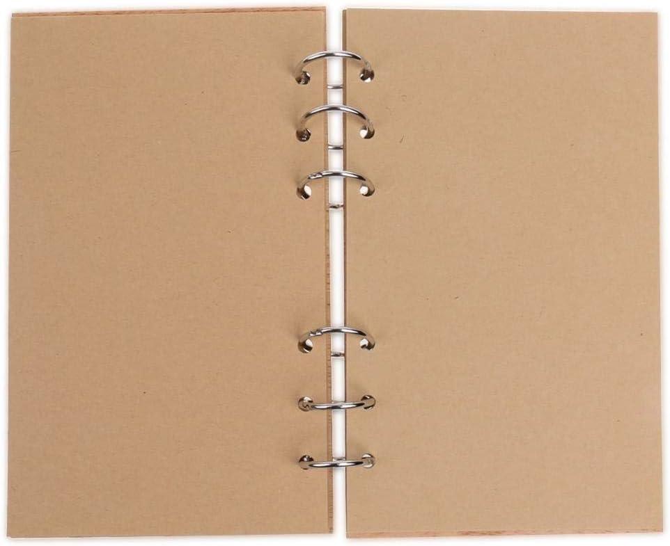 akaddy Livres de Mariage Livres en Bois Creux en Dentelle carnet de nom en Forme de carnet Love01
