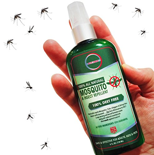 Surf Bug (Elite Choice Natural Mosquito Insect Repellent - DEET-Free Travel Size Bug Spray Works Best for Repelling Mosquitoes, Ticks and Biting Insects - Safe for Your Kids Family and Pets)