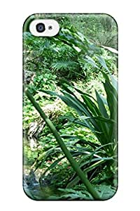 New Style Case Cover AfDOtvN6979COeSq Rainforest Plants Compatible With Iphone 4/4s Protection Case