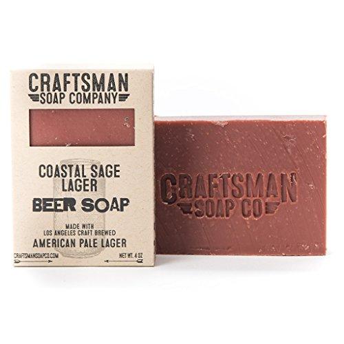 - Craftsman Soap Company Beer Soaps (Coastal Sage Lager, 1 Bar)