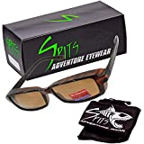 Slim Jim Mini - These fit over most prescription eyewear -Sunglasses Grey Polarized Lenses