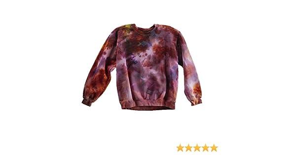 43ede15fa8cf Pollock Black Tie Dye Long Sleeve Shirt Unisex Burning Man Festival Plus  Size Top S