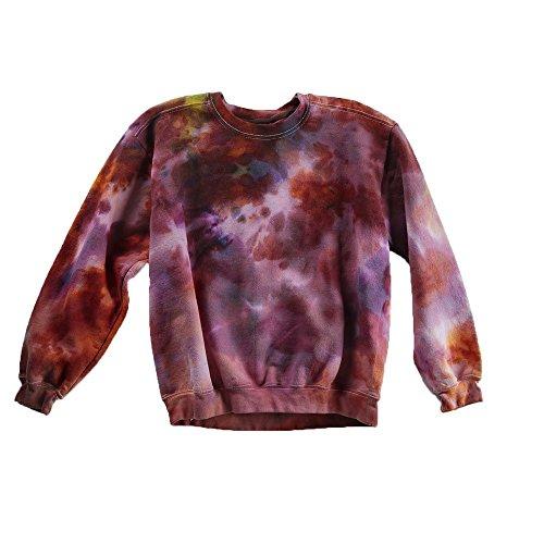 Violet Tie Dye Sweatshirt Unisex Festival Hoodie Grateful dead Plus Size S, M, L, XL, XXL -