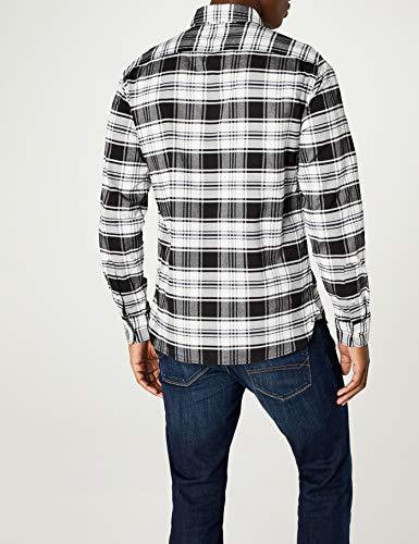Sunset Pocket Phantom Levi's Chemise Homme Shirt Dark Casual 0376 1 Noir swift UqRwHRO