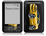 2010 Camaro RS Yellow - Decal Style Skin fits Amazon Kindle 3 Keyboard (with 6 inch display)