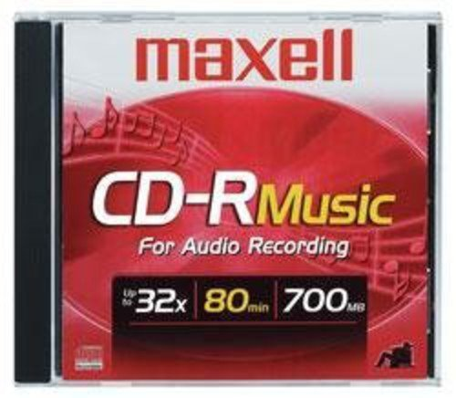 Maxell Recordable Cd  Blank CD-R Disc
