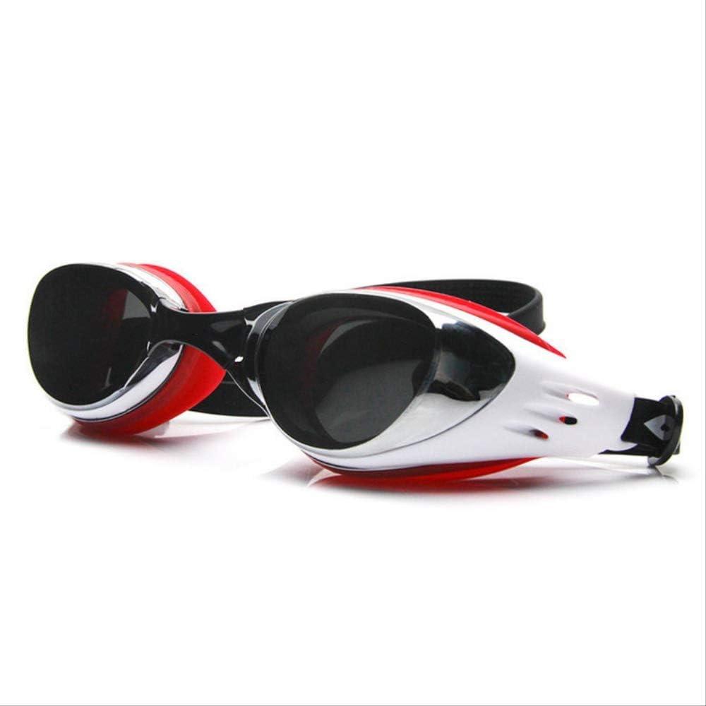 WNBJ Gafas De Natación De Marco Grande Antivaho A Prueba De Agua Gafas De Protección Ultravioleta para Adultos Gafas De Natación