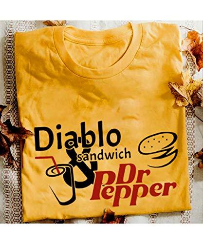 Diablo Sandwich And Dr.Pepper T-Shirt (Diablo Sandwich And A Dr Pepper T Shirt)