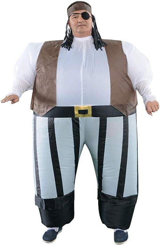 Amosfun disfraz inflable de piratas del Caribe, para adultos ...