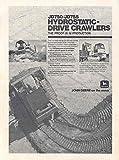 1978 John Deere JD750 JD755 Crawler Loader Bulldozer Ad