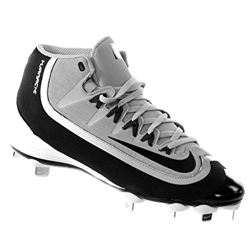 NIKE Men's Huarache 2KFilth Pro Mid Baseball Cleat 8 by NIKE