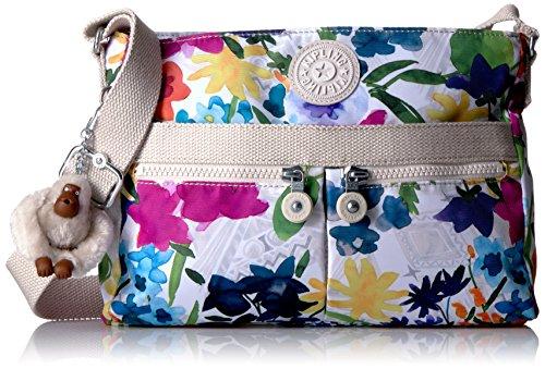 Kipling Convertible Flower Power Angie Crossbody Solid Bag qU4Sw1q