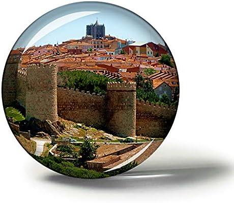 Hqiyaols Souvenir España Las murallas de Ávila Imanes Nevera ...