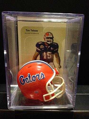 Gators Tebow Tim Florida - Florida Gators NCAA Helmet Shadowbox w/ Tim Tebow card