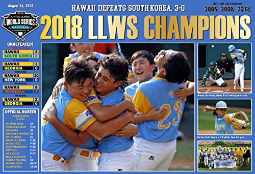 (PosterWarehouse2017 Hawaii WINS The 2018 Little League World Series Commemorative Poster)